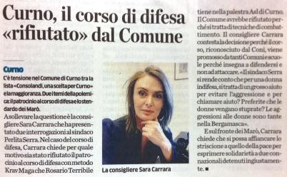 Sarah Carrara showdown
