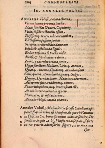 Annales Volusii_Catullus 36