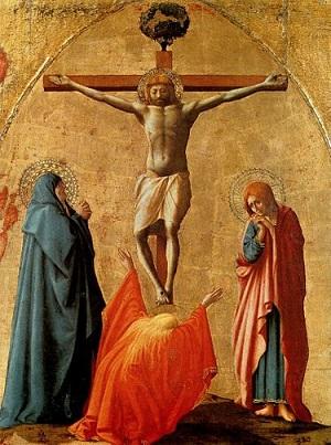 Masaccio, Crocifissione