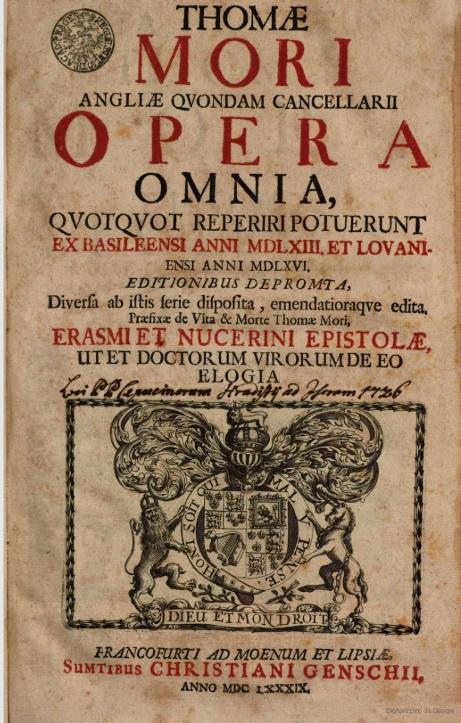 Mori Opera omnia