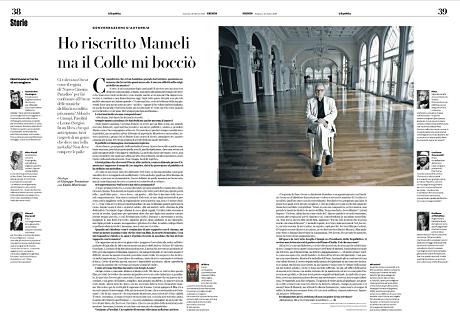Intervista a Repubblica