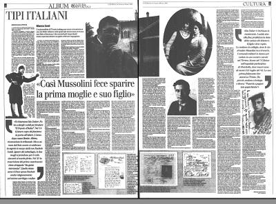 Lorenzetto_Mussolini e suo figlio