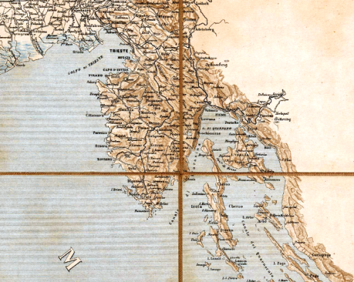 Carta d'Italia 1 a 1000000
